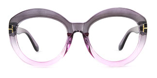 6214 Allene Cateye purple glasses