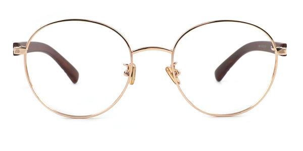 6498 Dorothy Round gold glasses