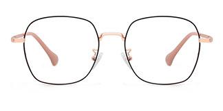 650561 Jonna Rectangle gold glasses