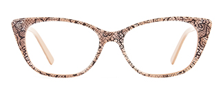 6516 Damia Cateye brown glasses