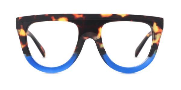 66188 Vanessa Aviator blue glasses