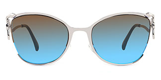 66299 Claire Cateye blue glasses