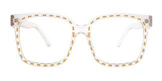 663 Kenda Rectangle clear glasses