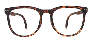 6661 Gerridine Oval tortoiseshell glasses