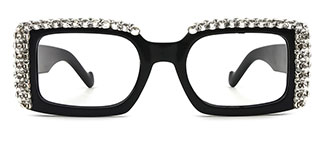 66612 Paisleigh Rectangle black glasses