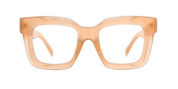 6920 Tricia Rectangle brown glasses