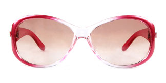 7231 Simran Oval pink glasses