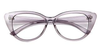 7352 Anne Cateye grey glasses