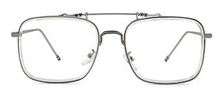 74235 Antonie Aviator clear glasses