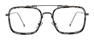 74235 Antonie Aviator tortoiseshell glasses
