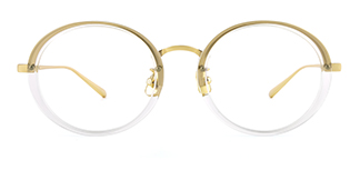 77010 Amandy Oval clear glasses