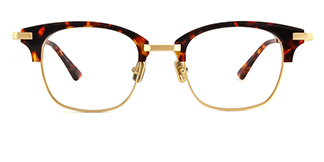 77020 Alyn Rectangle tortoiseshell glasses