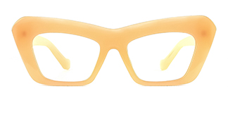 77183 Alvinia Cateye yellow glasses
