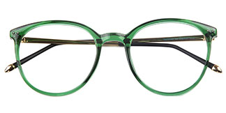 7753 Hachilah Round green glasses