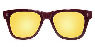 78025 Gemma Rectangle red glasses