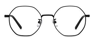 80018 Annamarie Geometric black glasses