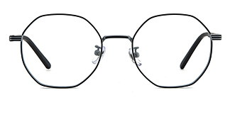 80018 Annamarie Geometric grey glasses