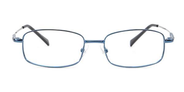 8052 Paul Rectangle black glasses