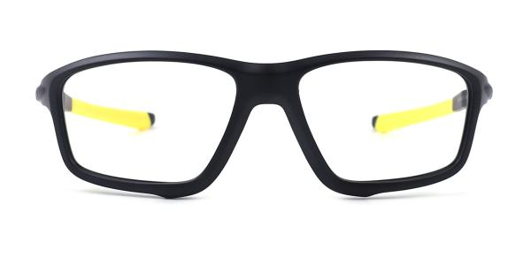 8071 Bruno Rectangle,Aviator yellow glasses