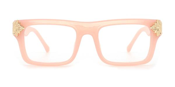 8118 Marisa Rectangle pink glasses