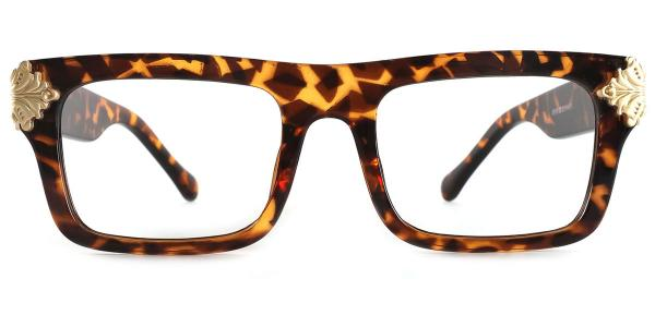8118 Marisa Rectangle tortoiseshell glasses