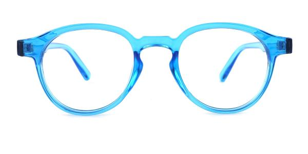 813059 Lily Oval blue glasses