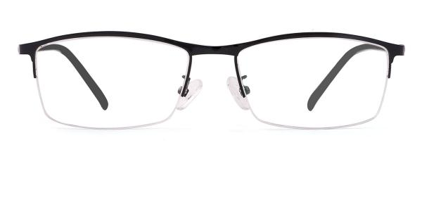 8159 Felton Rectangle black glasses