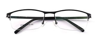 8159 Felton Rectangle black glasses
