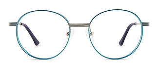 8223 tiffany Round green glasses