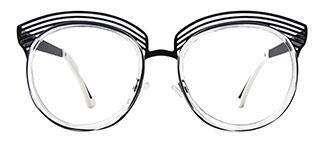 843 Apria Oval clear glasses