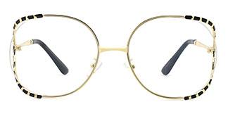 85101 Kearney Oval black glasses