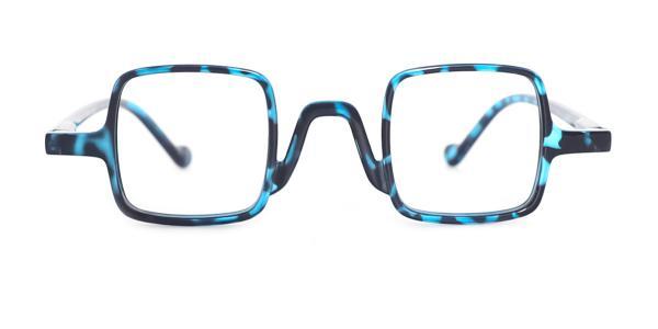 85201 Isoke Rectangle blue glasses