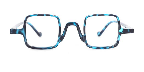 85201 Isoke Rectangle tortoiseshell glasses
