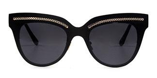 86031 Shirley Cateye black glasses