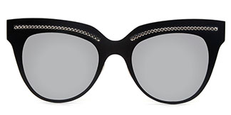 86031 Shirley Cateye grey glasses