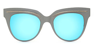 86031 Shirley Cateye blue glasses