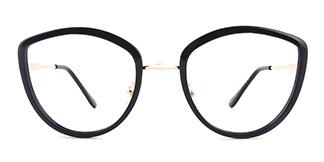 86041 Eileen Cateye black glasses