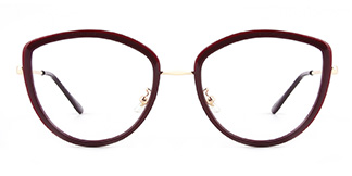 86041 Eileen Cateye red glasses