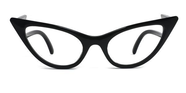 86262 Ivy Cateye black glasses