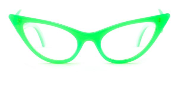 86262 Ivy Cateye green glasses