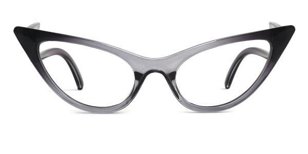 86262 Ivy Cateye grey glasses