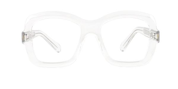 86313 Regina Rectangle clear glasses