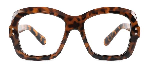 86313 Regina Rectangle tortoiseshell glasses