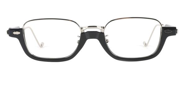 86335 Freda Rectangle black glasses