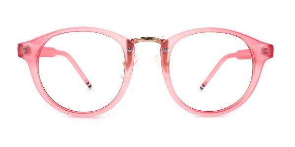 867 Aurora Round tortoiseshell glasses