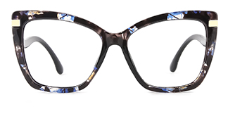 8702 Josie Cateye floral glasses