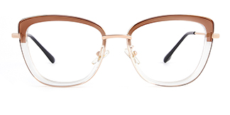 87030 Verna Cateye brown glasses