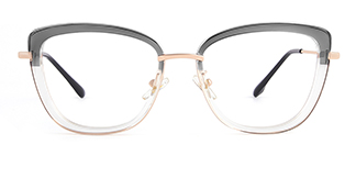 87030 Verna Cateye grey glasses