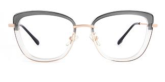 87030 Verna Cateye grey glasses