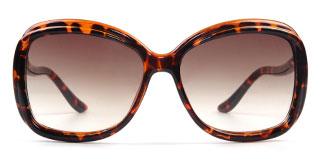 8801 Langford Rectangle tortoiseshell glasses